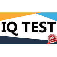 Online IQ test with a certificate
